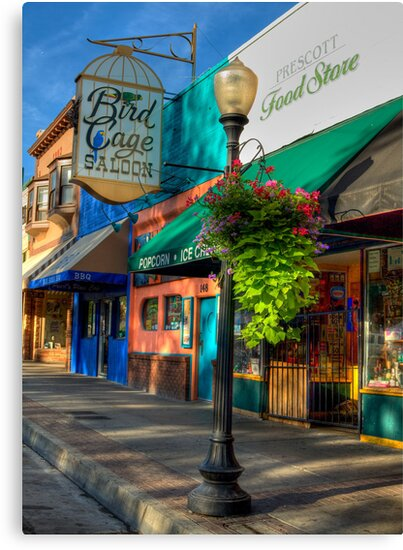 Historical Whiskey Row Prescott Arizona by Diana Graves Photography
