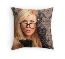 Yes ... You... I am looking at you Throw Pillow