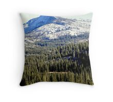 """Tenaya Peak"" Throw Pillow"