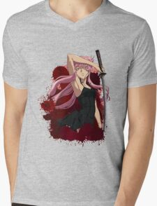 future diary mirai nikki yuno gasai anime manga shirt Mens V-Neck T-Shirt