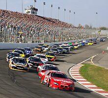 Into turn one by racefan24