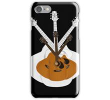 Guitar Coat of Arms - Musically Themed Art iPhone Case/Skin