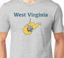 West Virginia Happy Mountain State Unisex T-Shirt
