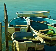 Tied Boats by JackPhotography
