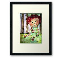 Sally Sunshine Framed Print