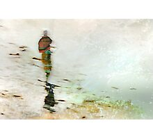 Fisherwoman Photographic Print
