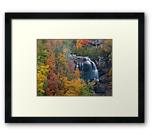and the leaves will fall Framed Print