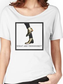 Harry Styles Boots What Are Those Women's Relaxed Fit T-Shirt