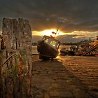 Harbour Sunrise by taffspoon