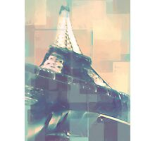 a tower in france Photographic Print