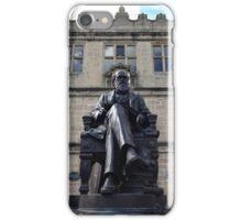 Charles Darwin Statue, Shrewsbury iPhone Case/Skin