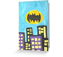 Bat City Greeting Card