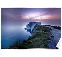 Old Harry Rocks, Dorset Poster