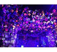 Roald Dahl Purple Matilda West End Show Set Photographic Print
