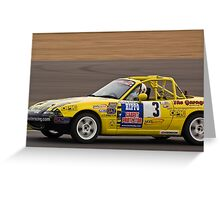 2010 Ma5da MX5 Champion Greeting Card