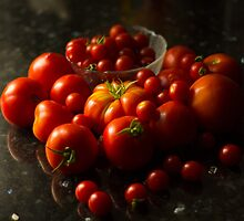 Fresh Tomatoes by John Kellogg
