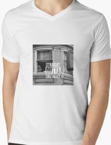 Straight outta Cole Valley Mens V-Neck T-Shirt