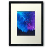Mellow Wonder: Stardust Galaxy Framed Print