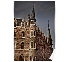 Casa Botines, Gaudí Poster