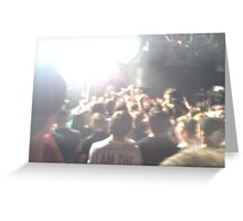 Concert Photo Greeting Card
