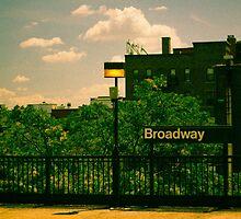 Astoria Broadway Station by John Kellogg