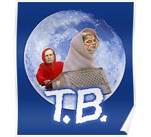 Tom Brady's Courtroom Sketch E.T. Parody Poster