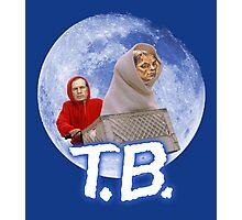 Tom Brady's Courtroom Sketch E.T. Parody Photographic Print