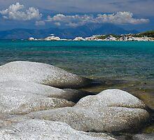 Sarti Beach by jnmayer