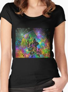 A Perfect Summer Day Women's Fitted Scoop T-Shirt
