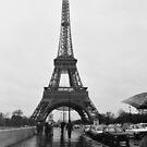 Eiffel Tower, Paris, Circa 1984 by Helen  Page