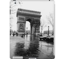 Arc de Triomphe, Paris, Circa 1984 iPad Case/Skin