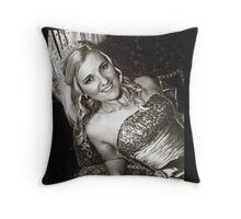 Bride Courtney Throw Pillow