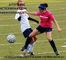 Attitude, Determination, Perserverance by Pietrina Elena
