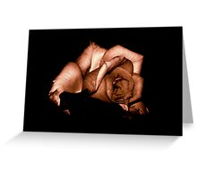 STRONG ROSE Greeting Card