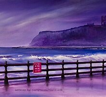 The Castle by the sea. Scarborough. by jan farthing