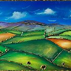 The Dales. Contemporary art.  by jan farthing