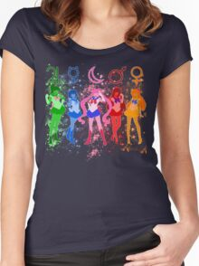 The Inner Senshi Women's Fitted Scoop T-Shirt
