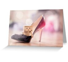 If The Shoe Fits... Greeting Card