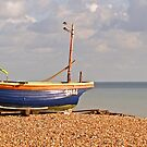 Fishing at Ferring by Charlotte Jarvis