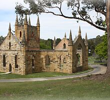 Convict Church Port Arthur Tasmania 1836-37. by PaulWJewell