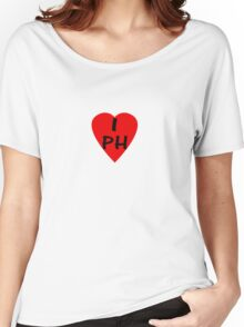 I Love Philippines - Country Code PH T-Shirt & Sticker Women's Relaxed Fit T-Shirt