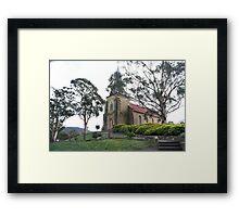 St John Catholic Church Richmond Tasmania 1836 Framed Print
