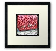 TTV- ICE COLD Framed Print
