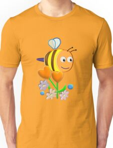 Cute Bumble Bee Unisex T-Shirt