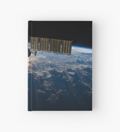 ISS over the Atlantic, 2013 Hardcover Journal