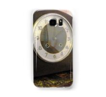 Old Mantle Clock at the Greendale Hotel Samsung Galaxy Case/Skin