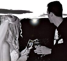 Toasting Married Life by Shevaun  Shh!