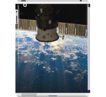 ISS over the Atlantic, 2013 (Enhanced) iPad Case/Skin