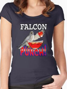 Falcon (fruit) Punch! Women's Fitted Scoop T-Shirt