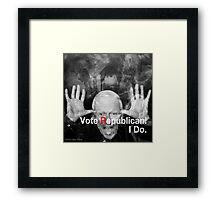 Vote Republican! 5 Framed Print